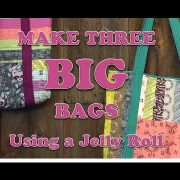 Jelly Roll Bag from Missouri Star Quilt Company