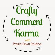 Crafty Comment Karma-A Crafting Community Link Up
