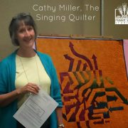 Quilt Week Paducah 2015-Notan Class with Cathy Miller