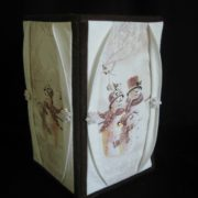 Curtained Window Vase-Countdown to Christmas 2015