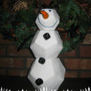 Winter Snowballs and a Snowman-Countdown to Christmas 2015