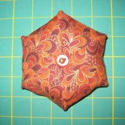 Pincushion Star-Countdown to Christmas 2015