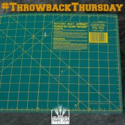 Self-Healing Cutting Mat – Quilter's Tool Chest for Throwback Thursday