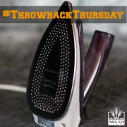 Iron with Steam – Quilter's Tool Chest for Throwback Thursday