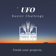 UFO Buster Challenge Link Up and Giveaway!